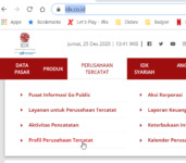 Download Data Bursa Efek Indonesia (idx.co.id) gunakan PowerQuery